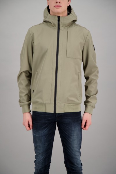 AIRFORCE - SOFTSHELL jas - licht groen
