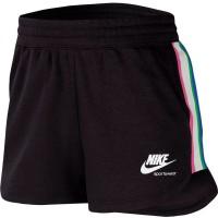 NIKE - HERITAGE FLEECE shorts women - zwart