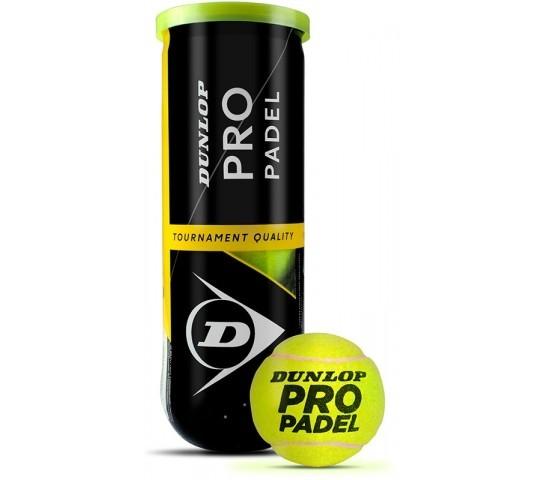 DUNLOP - PRO PADEL 3PET - padel ballen