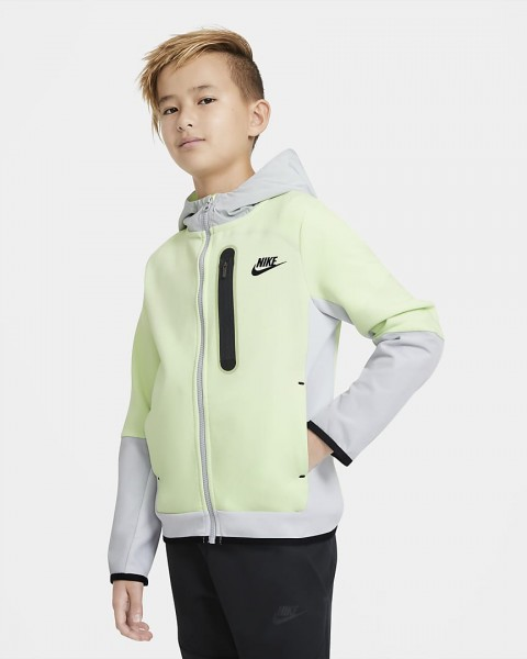 NIKE - TECH FLEECE vest boys - geel