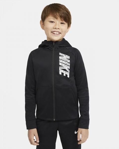 NIKE - THERMA hoodie kids - zwart