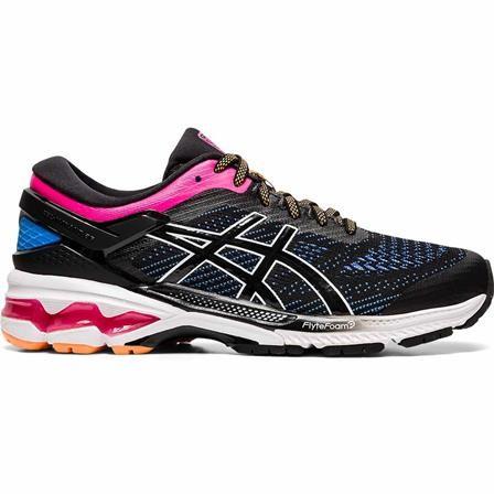 ASICS - GEL-KAYANO 26 schoenen - zwart