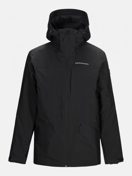 PEAK PERFORMANCE - MAROON jas - zwart