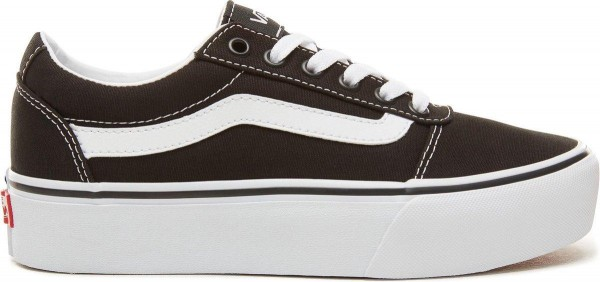 VANS - WARD PLATFORM Sneaker women - zwart