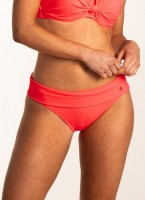 BEACHLIFE - NEON HYPE omslag bikinibroekje dames - roze