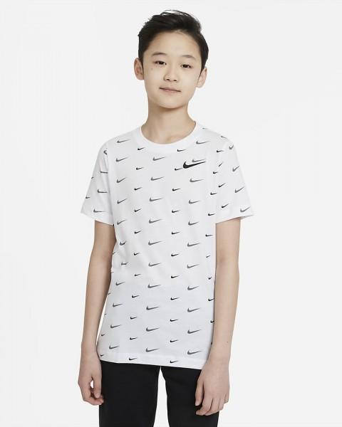 NIKE - SPORTSWEAR T-shirt boys - wit