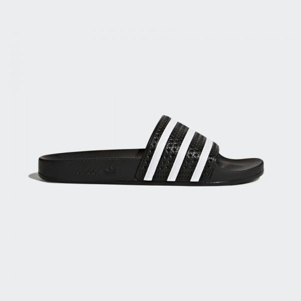 ADIDAS - ADILETTE slippers - zwart