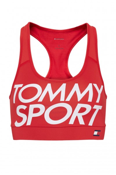 TOMMY - MEDIUM SUPPORT sport-bh - rood