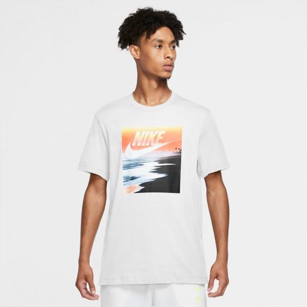 NIKE - SUMMER FOTO t-shirt men - wit