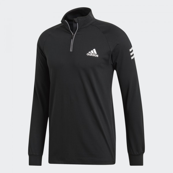 ADIDAS - CLUB MIDLAYER top - zwart