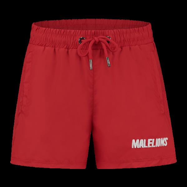 MALELIONS - NIUM zwemshort boys - rood