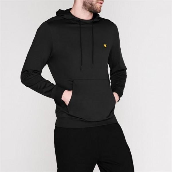 LYLE & SCOTT - FLY FLEECE sweater men - zwart