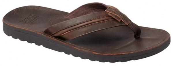 REEF - VOYAGE LUX slippers - donker bruin