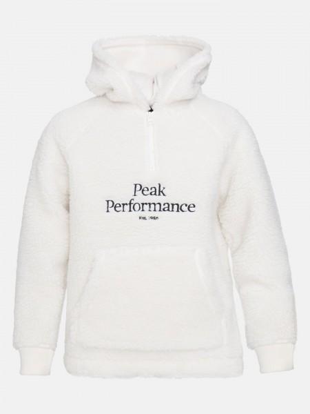 PEAK PERFORMANCE - ORIGINAL PILE HALF ZIP junior - wit