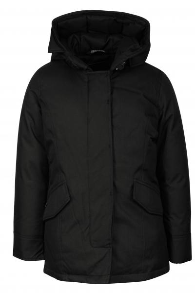 AIRFORCE - 2 POCKET HERRINGBONE jas girls - zwart