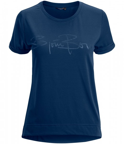 BJORN BORG - DESSI T-shirt - donker blauw