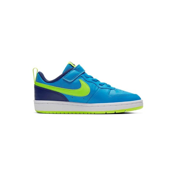 NIKE Lil'kids schoen - Court Borough Low 2 blauw