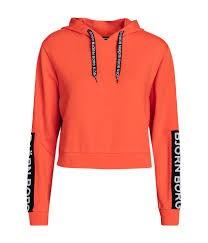 BJORN BORG - CROPPED sweater - oranje