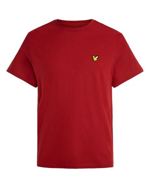 LYLE & SCOTT - MARTIN SLEEVE T-shirt - rood - Haarlem