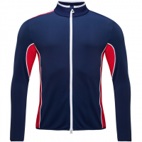 ROSSIGNOL - MEDAILLE FULL ZIP LAYER men - blauw