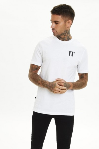 11 DEGREES - CORE t-shirt men - wit