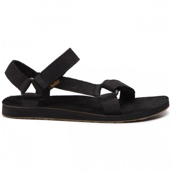 TEVA - ORIGINAL UNIVERSAL LEATHER sandalen - zwart