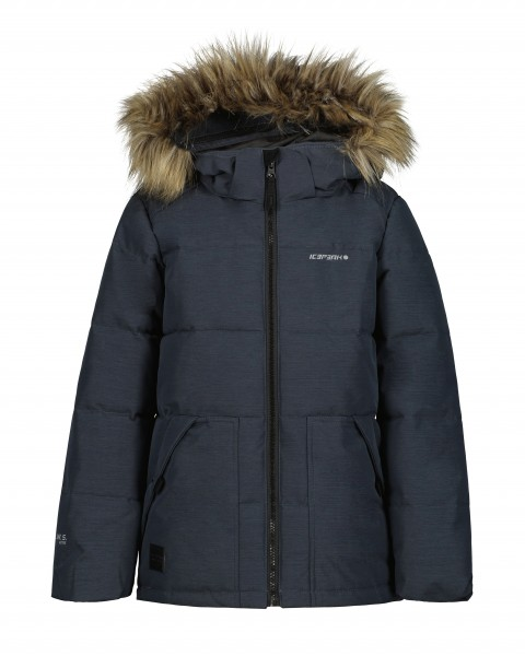 ICEPEAK - KENNER ski jas kids - grijs