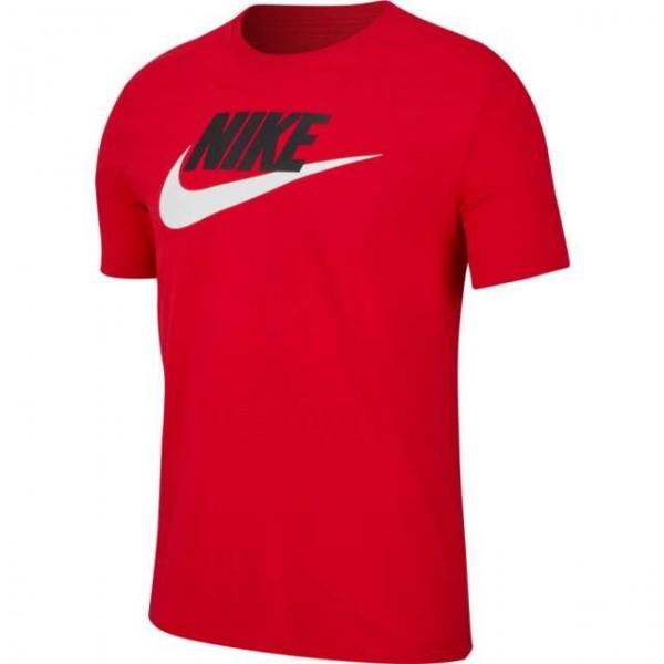 NIKE - ICON FUTURA T-shirt - rood - Haarlem