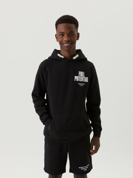 BJORN BORG - BORG SPORT HOOD boys - zwart
