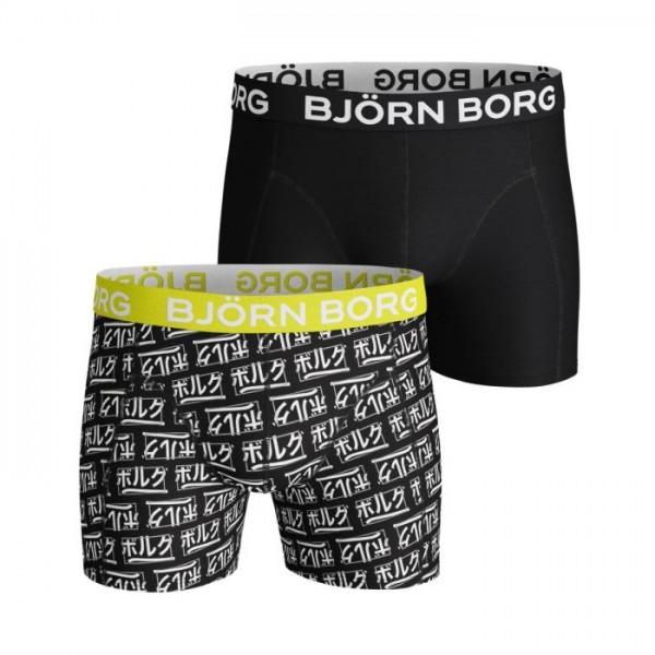 BJORN BORG - 2-PACK LOGO boxers - zwart