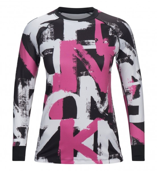 PEAK PERFORMANCE - SPIRIT PRINTED shirt - roze