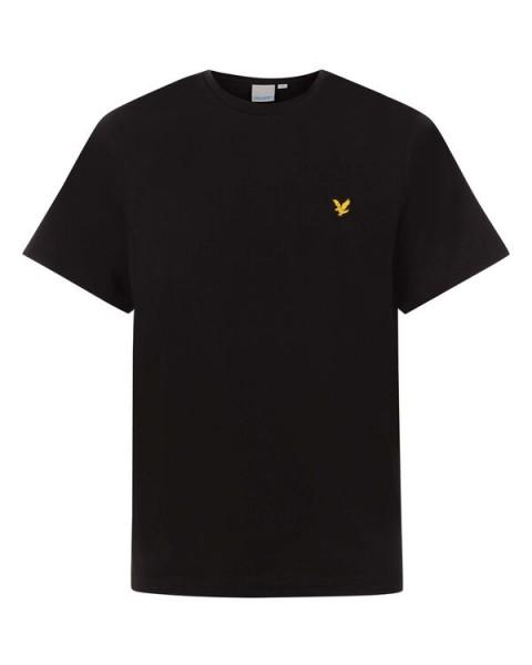LYLE & SCOTT - MARTIN SLEEVE T-shirt - zwart - Haarlem