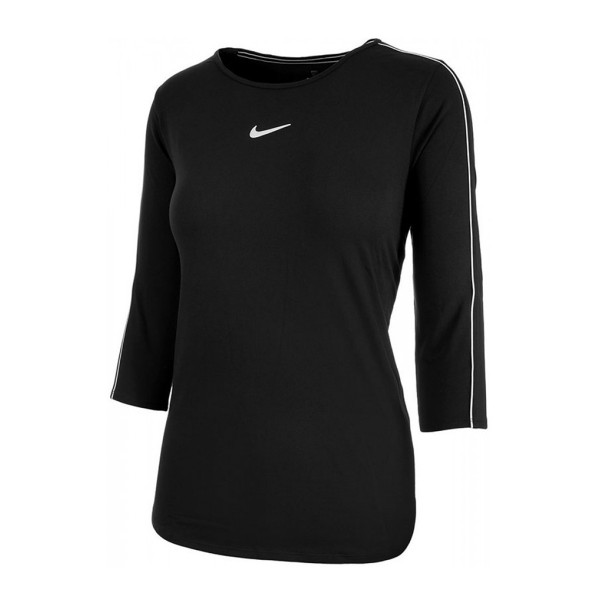 NIKE - COURT top - zwart