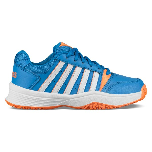 K-SWISS - COURT SMASH OMNI JUNIOR schoenen - blauw