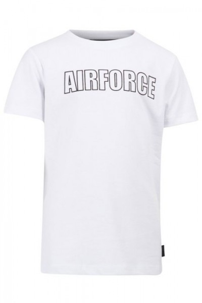 AIRFORCE - Outline T-shirt boys - wit