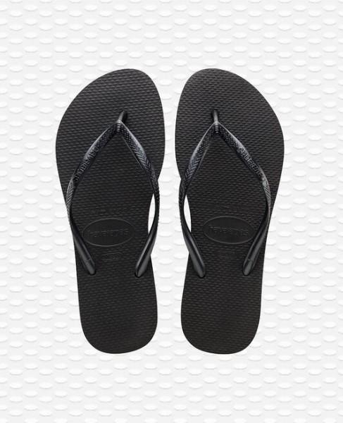 HAVAIANAS - SLIM slippers women - zwart