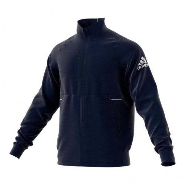 ADIDAS - KNIT jas - licht blauw