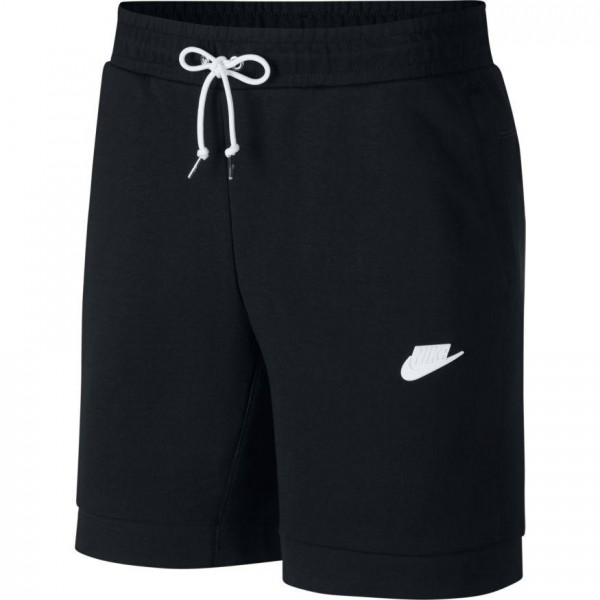 NIKE - FLEECE short men - zwart