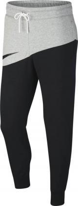 NIKE - SWOOSH broek heren - zwart/grijs