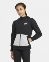 NIKE - AIR FRENCH TERRY hoodie girls - zwart