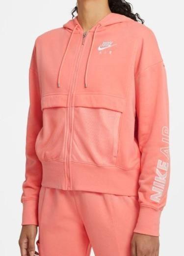 NIKE - AIR FULL ZIP top women - roze