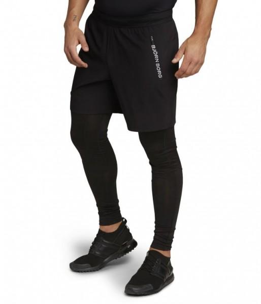 BJORN BORG - ADILS Shorts men - zwart
