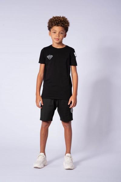 BLACK BANANAS - RANK t-shirt junior - zwart/wit