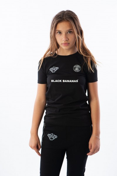 BLACK BANANAS - F.C. TEE kids - zwart