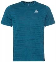 ODLO - ZEROWEIGHT ENGINEERED CHILL TEC runningshirt men - blauw