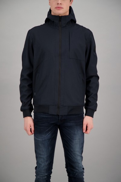 AIRFORCE - SOFTSHELL jas - donker blauw