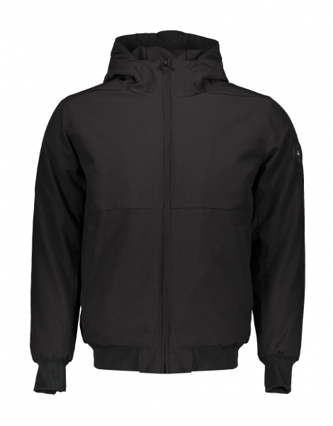 AIRFORCE - SOFTSHELL PADDED jas - zwart - black - Haarlem