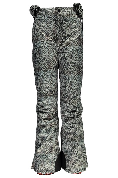 SUPER REBEL - ALL OVER ski-broek - grijs