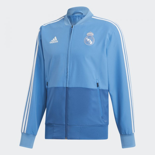 ADIDAS - REAL MADRID PRESENTATION vest - blauw