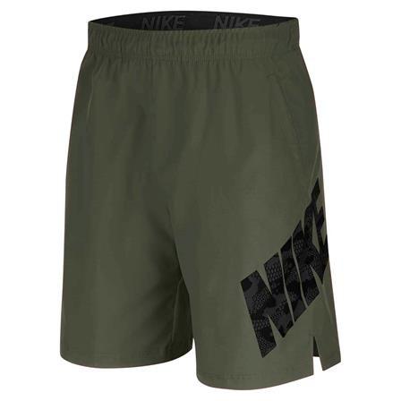 NIKE - FLEX CAMO short - donker groen